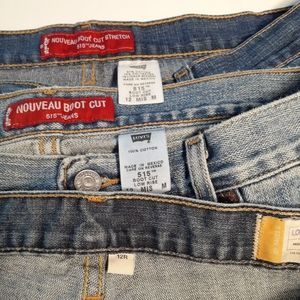 3 pair of size 12 jeans!